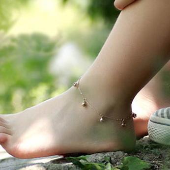 精美脚链,魅力非凡,你也能戴出这样的效果
