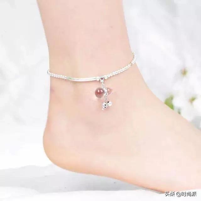 唯美的脚链灵动美丽,展现你的优雅,让你'足下生辉'