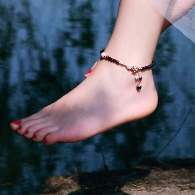 让您戴起来闪现耀眼光芒的脚链