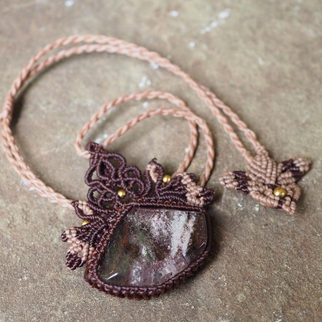 中国结-包石头项链之美图集欣赏【美轮美奂】