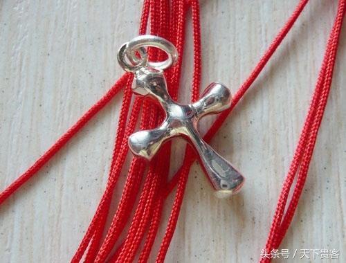 红绳手链步步高升结编法图解玉米结、十字结变化,简单实用