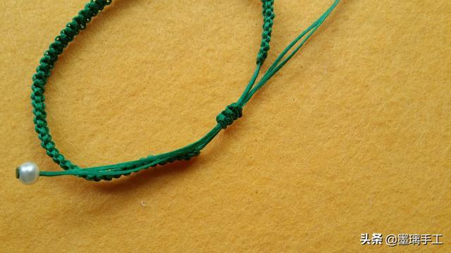今年最流行的小雏菊 手工编绳教程小雏菊手链编法教程