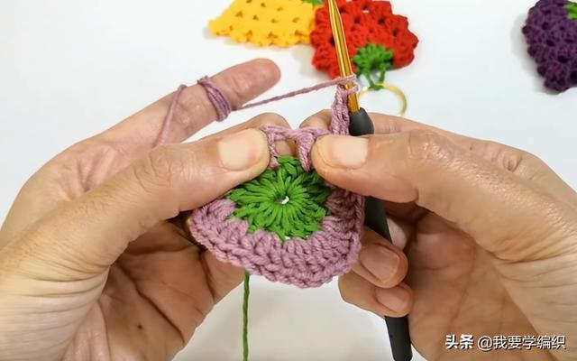 朋友说想买个钥匙圈小挂饰,这还需要买吗?一款草莓小挂饰教程