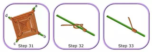 厉害,只用一次性筷子和毛线,居然做出这么美的挂饰!附教程