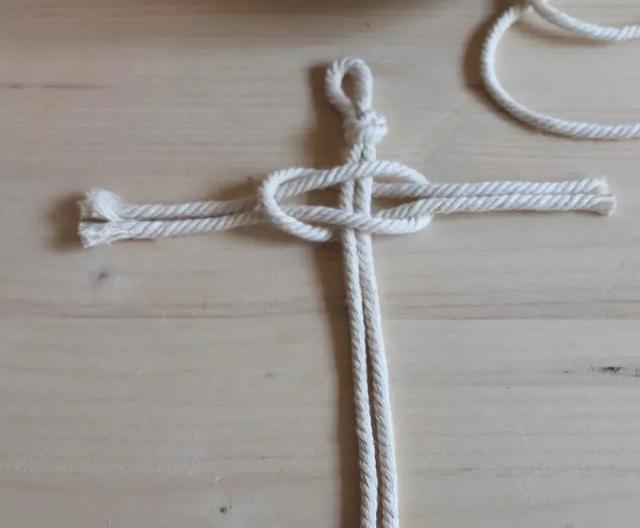 教你在家编织棉绳挂饰,简单易学,用来装饰墙面非常好!附教程