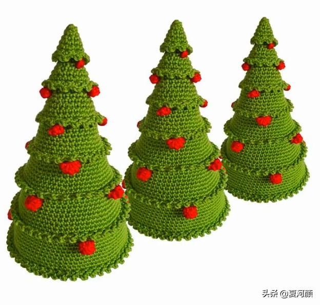 分享几十款可爱的迷你针织小挂件、饰品,喜欢的编织一个吧