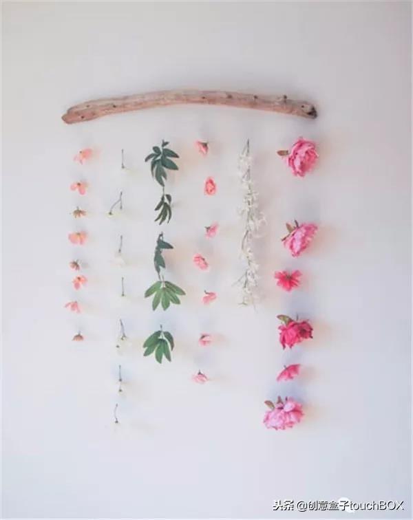 优雅别致的鲜花挂饰制作方法教程,人人都能动手做