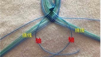 「教你编绳」编一个文玩小粽子玩玩,挂在身上吃货们便可望梅止渴
