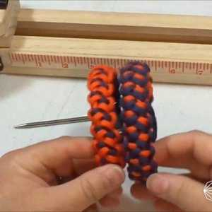 这手链竟然用钢刀和伞兵绳做材料,锋利耐磨还能打猎