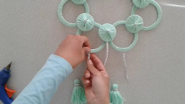 手工小课堂,带你学习如何制作漂亮的家居装饰挂件!