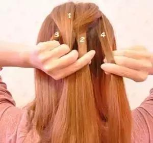 韩式靓丽扎头发编发步骤---4款唯美蝎子辫编法!