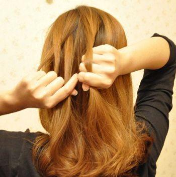 4款蝎子头编发发型,几分钟就能轻松拥有!