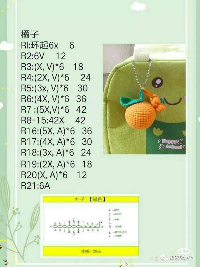 15款精美饰品!毛线编织玩偶手工自制.附钩针图解