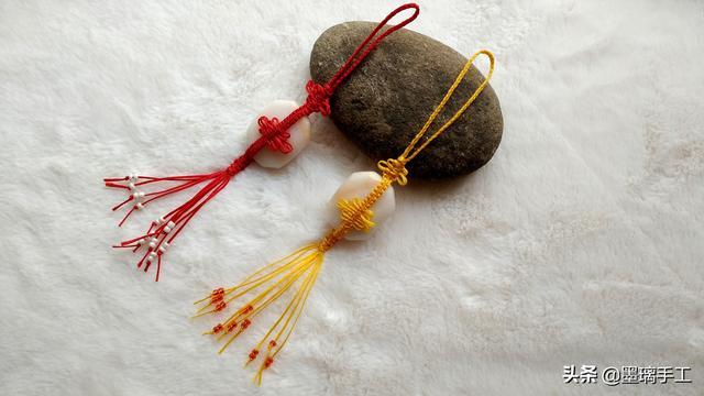 手工编绳教程非常容易上手的平安挂饰