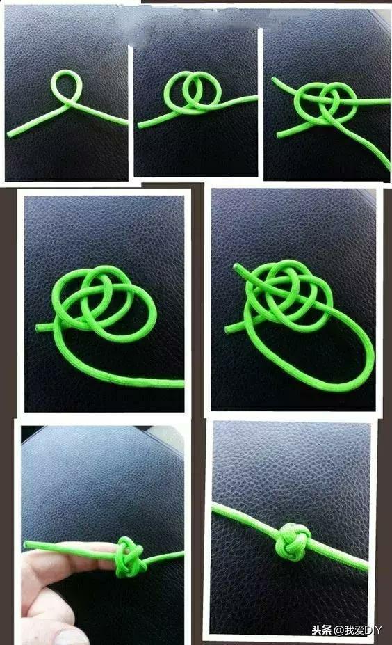 绳编小挂件,用一根绳子打造起来,绝对让你惊呼!有用又好看