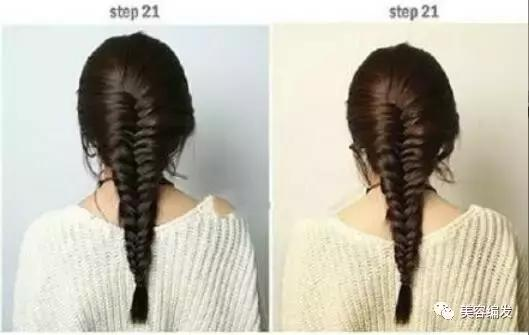 3款韩式蜈蚣辫编发教程图解,简单易学有气质!