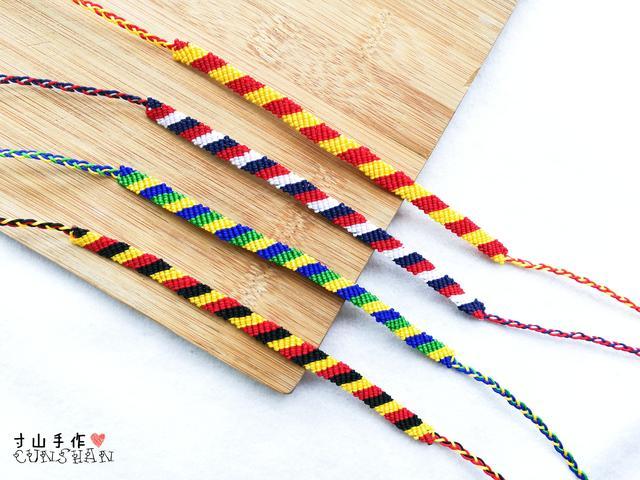 编手链的线材怎么挑?新手入坑指南!手把手教你怎样选择编绳线材