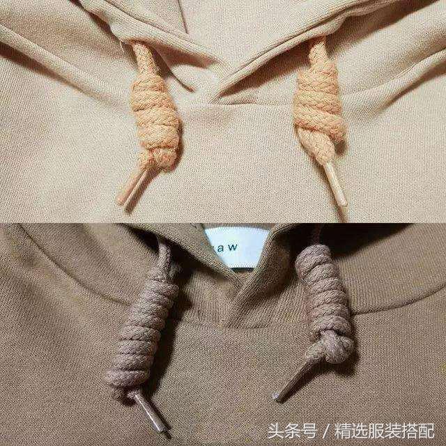 卫衣上的两条绳你知道是怎么用的吗?足以让你显有独特的美!