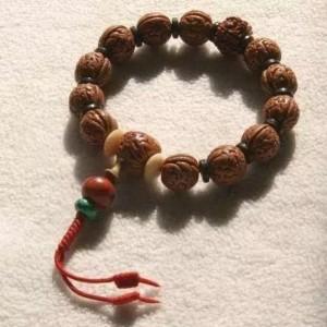 穿手串方法图解-佛珠最简单的打结方法图解