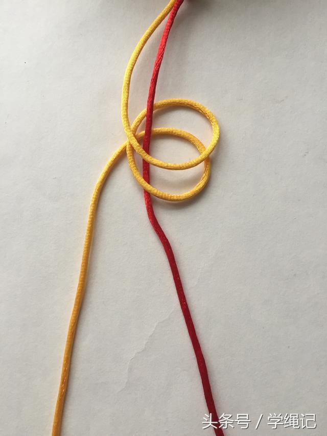「编绳」常用基础结——金刚结图解