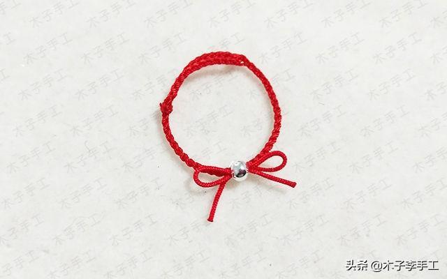 小清新极细款红绳戒指,戴上手就不想取下来了