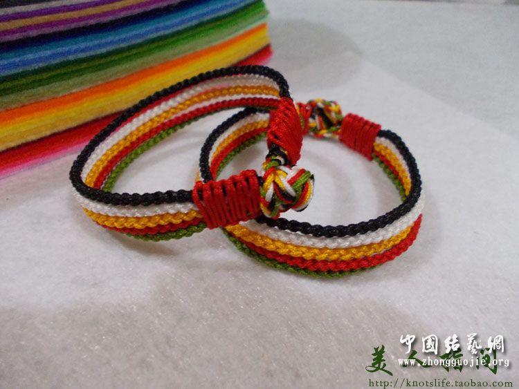五彩绳哪五个颜色,端午节五彩绳颜色搭配