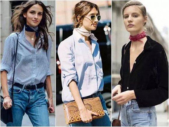 提升品味的丝巾你会系吗?还在担心不会系丝巾?七种系法任你选