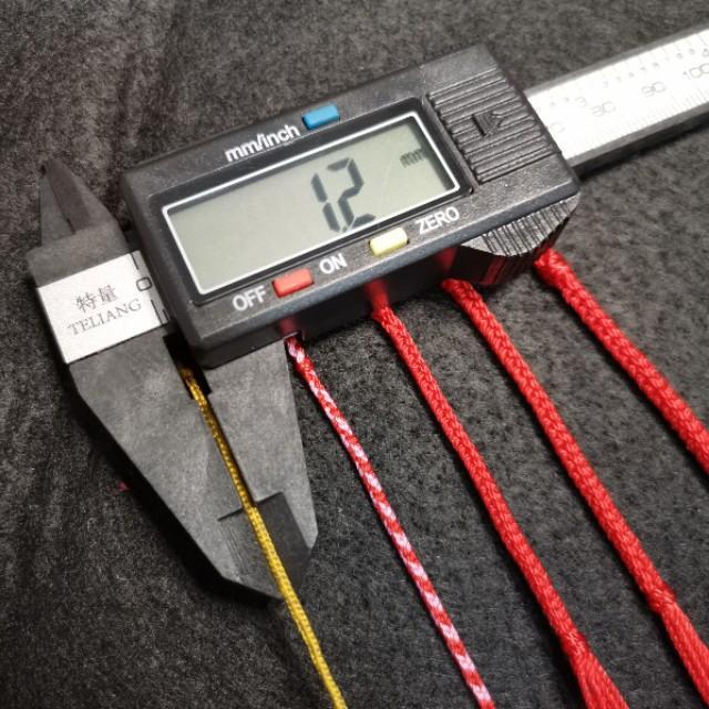 3股线编织有多虐?新手编绳股线选多粗?