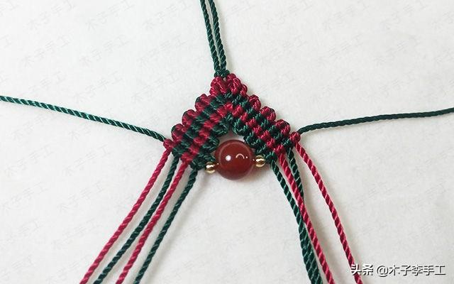 买了坠子缺根项链绳?别着急,木子教你做的更漂亮