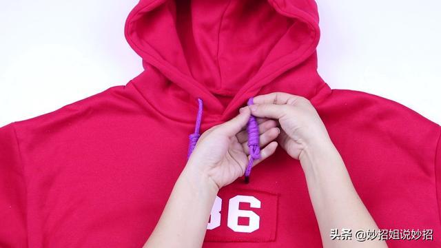 分享3款卫衣绳子打结方法,哪一款都不错,让你卫衣绝对与众不同