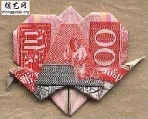 心的折法大全,心形折纸大全╭纸的折法