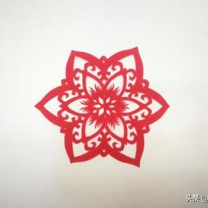 春节窗花剪纸教程图解,简单好看的窗花剪纸