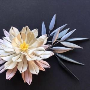 缠花的制作方法图解,古代缠花起源