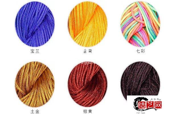 中国结72号玉线有多粗,72玉线能编什么手链