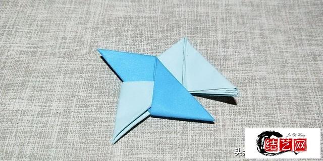简单好玩的折纸飞镖,很多人的童年回忆呦
