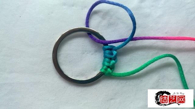 diy手工编绳创意钥匙扣解决刮包包的烦恼