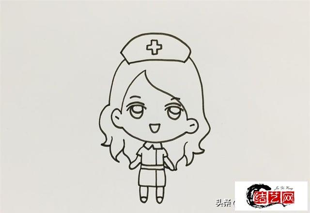 每天学一幅简笔画--护士怎么画简单又漂亮
