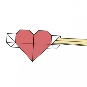 筷子袋折纸教程图解,教你简单筷子袋怎么折