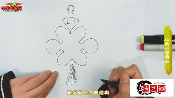 中国结简笔画图解教程