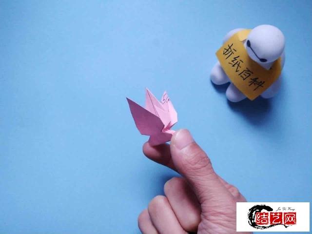 非常漂亮的花朵折纸,简单几步就做好,手工DIY折纸图解教程