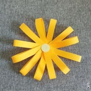 简单小雏菊折纸图解,纸雏菊的做法