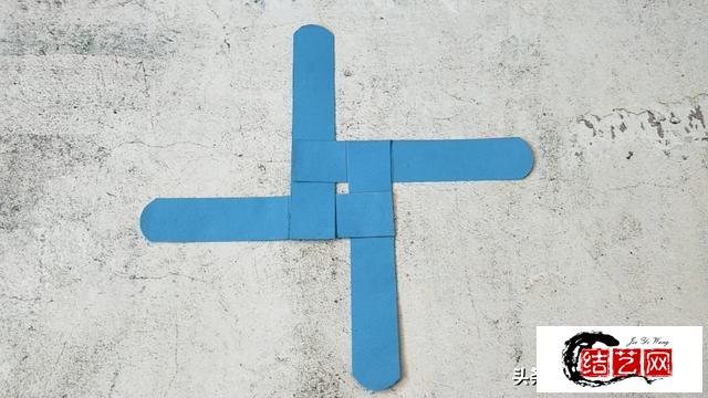 十字卡纸飞镖图解教程,简单又好玩,快来试试!