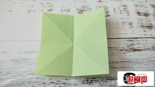 无限翻折纸教程图解,好玩又好看,快收藏起来