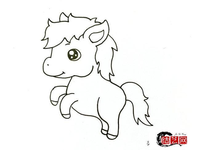 小马画法教程详解,手把手教给家里的宝宝,成就宝宝画家梦想
