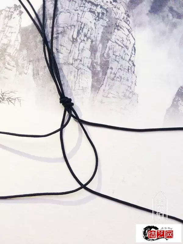 云宿艺:动手学习手编四股绳瓦猫吊坠