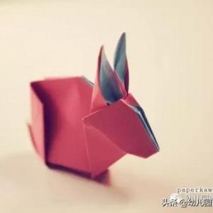 十二生肖折纸大全图片,有详细的步骤图解做法简单