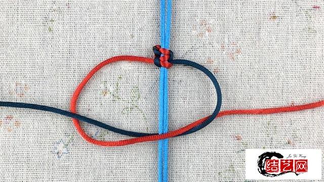 绳编教程~基础结~双向平结(第3版)