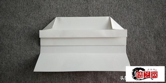 折纸教程:A4纸折出的漂亮信封,简单又实用