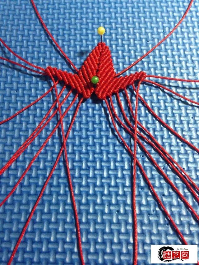 中国结枫叶编织