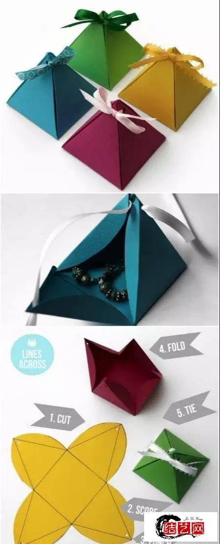 手工折纸:谁说折纸中看不中用,超实用又好看的折纸技能学起来